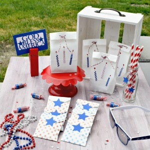 Patriotic Treat Bags