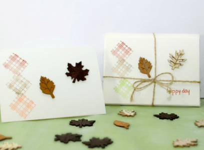 Super Easy Stamped Fall Gift Card Set