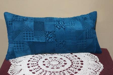 Velvet Embossed Stamped Pillow