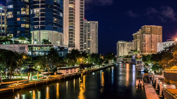 Downtown Fort Lauderdale Florida