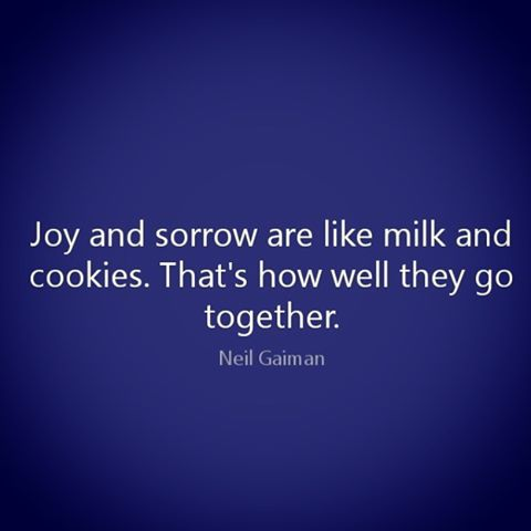 Day 94: Milk and Cookies. Or Joy and Sorrow