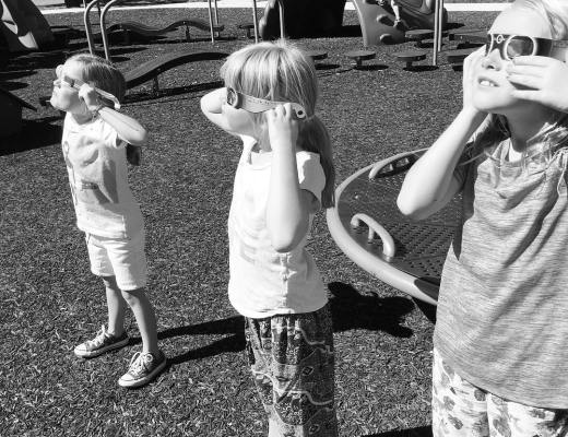 Kids Day 49 The Eclipse - Kids! Day 49: The Eclipse!