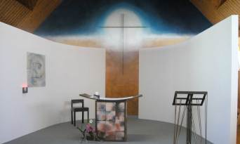Chapelle de L'ICOB à Arradon, Morbihan. 2004