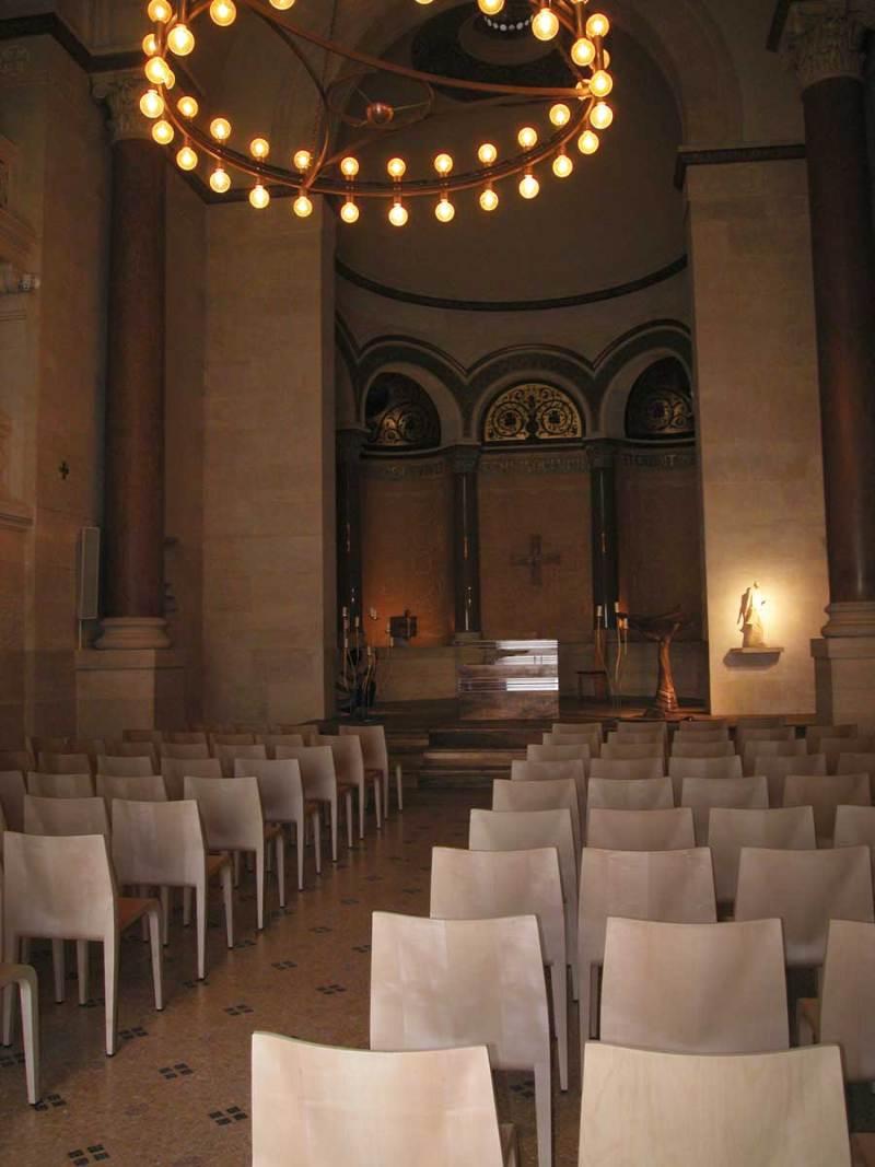 Chapelle contemporaine des sœurs-auxiliatrices