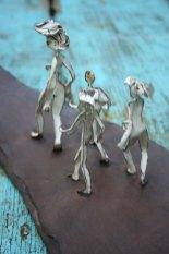 Murielle 2009, émail sur cuivre, terre