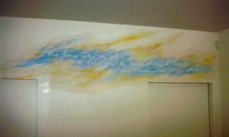 Peinture de l'envoi