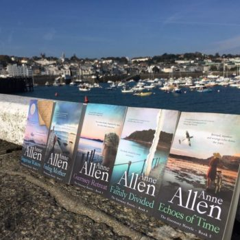 The Guernsey Novels in a row