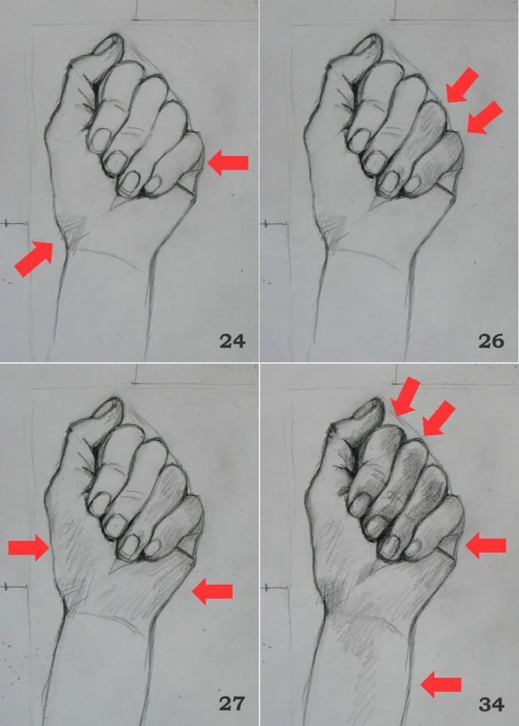 Hand Drawing Tutorial #7 (Part 2): Shading as Jigsaw