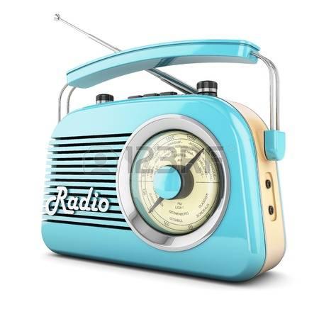 40039350-r-tro-radio-r-cepteur-enregistreur-portable-bleu-isol-objet-mill-sime