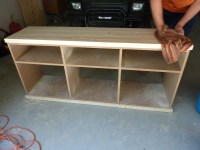 easy to build tv stand plans | woodideas