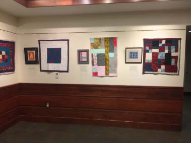 3 Quilts and Prints Exhibit Wall 2