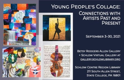 Young People's Collage postcard-s