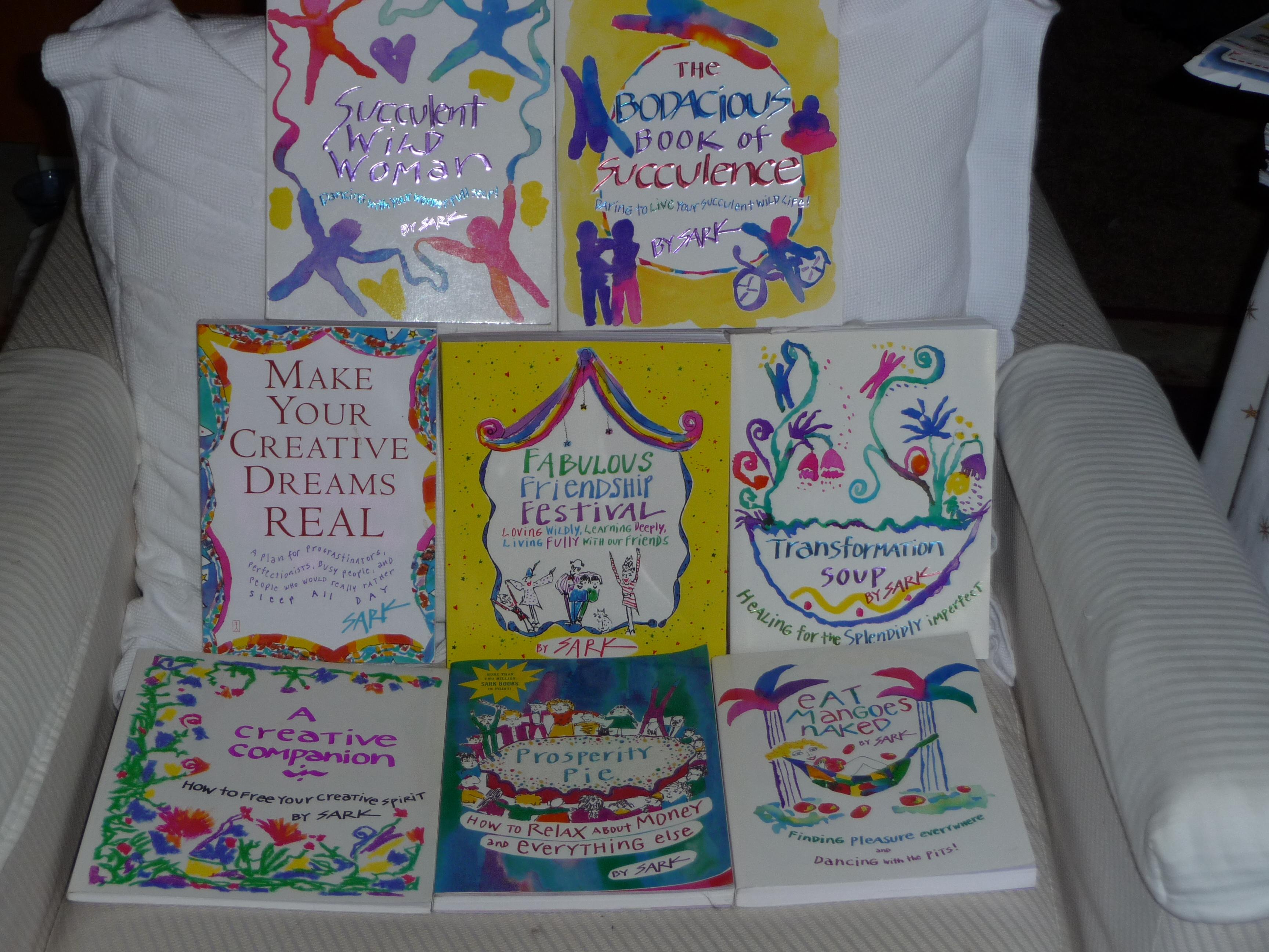 My SARK Books