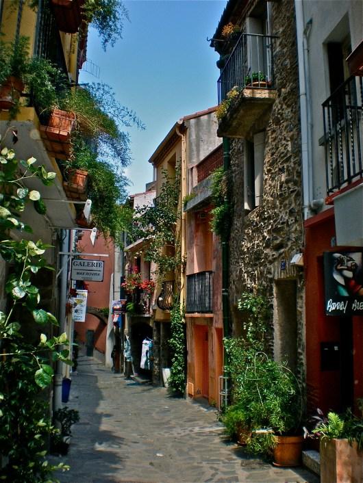 Pretty village Collioure
