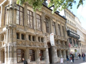 House of the Exchequer, Place de la Cathedrale, Rouen