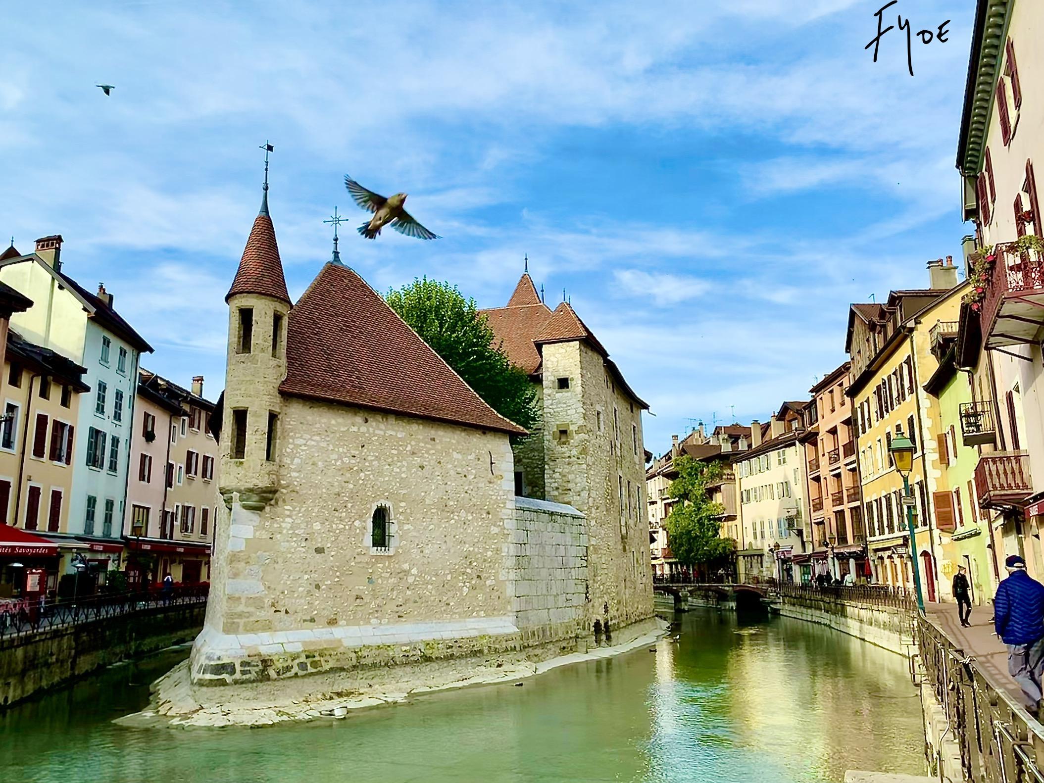 les vieilles prisons à Annecy