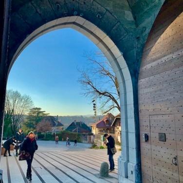 L'entrée du Chateau d'Annecy