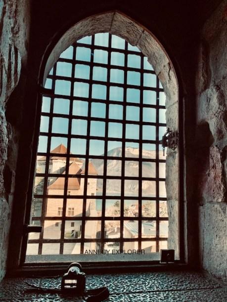 La vue depuis la tour de la reine du Château d'Annecy