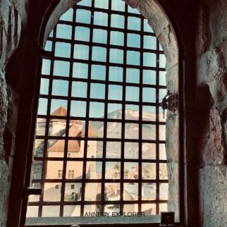 La vue depuis la tour de la reine,