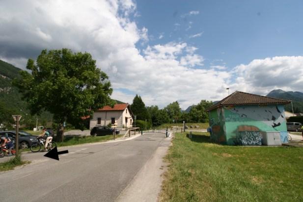 Direction Annecy tour du lac à vélo