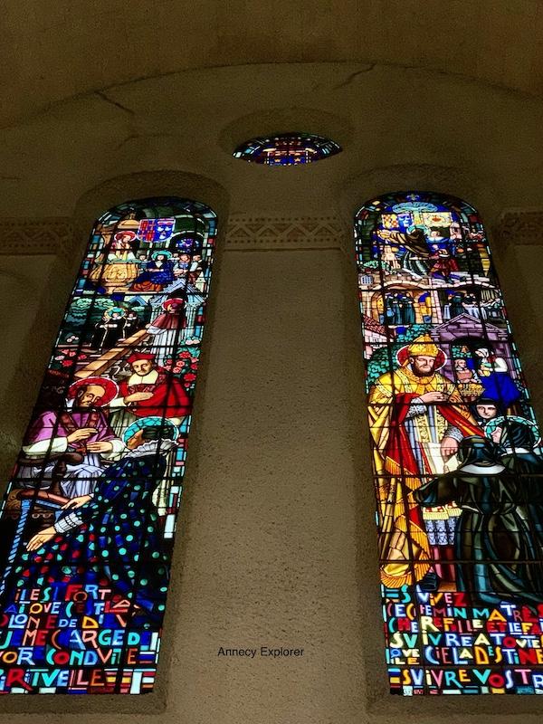 La basilique de la Visitation à Annecy