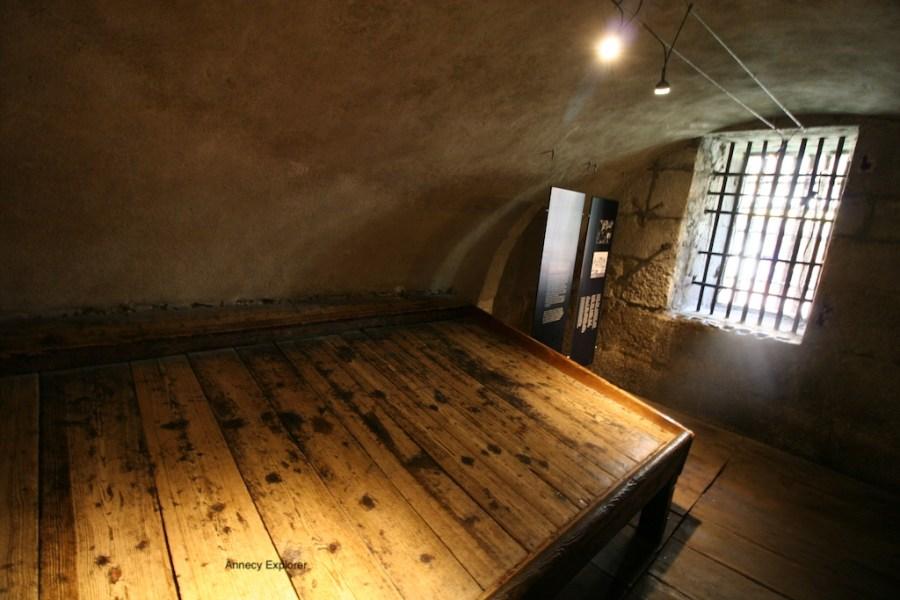 Cellule du palais de l'île à Annecy