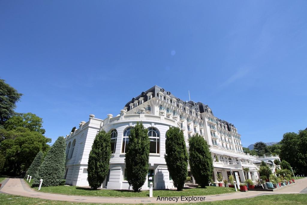 L'hôtel Imperial Palace d'Annecy