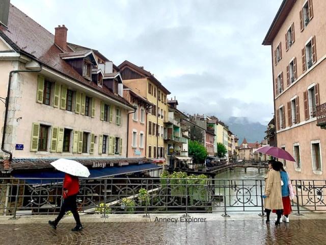 Que faire à Annecy quand il pleut?
