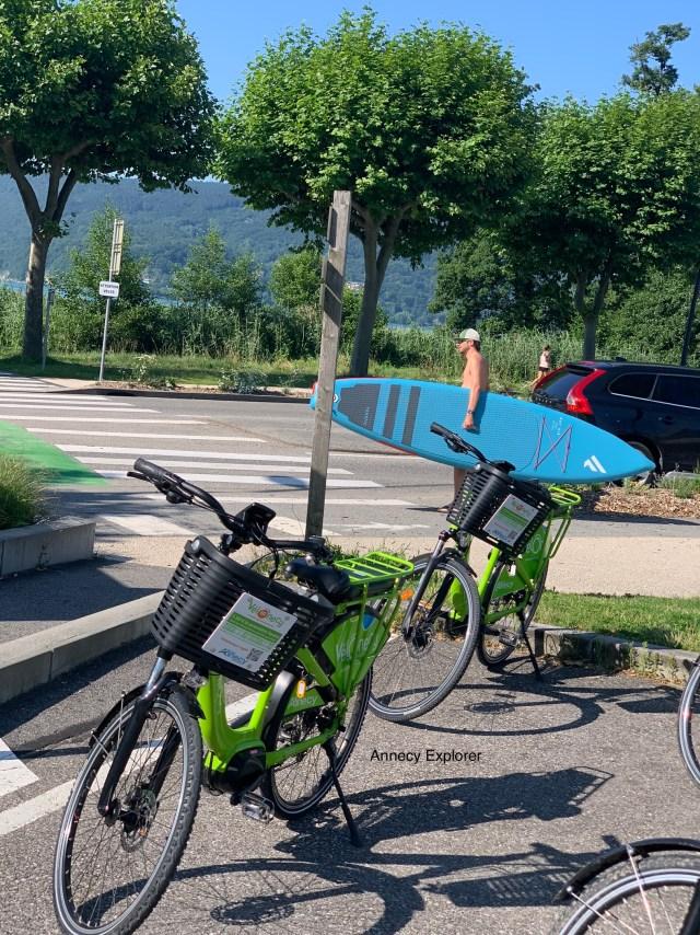 louer un vélo électrique à annecy