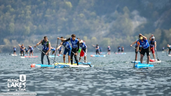 entrainement annecy paddle club a Albigny