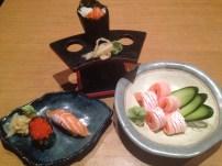 The best salmon sashimi I'd ever eaten
