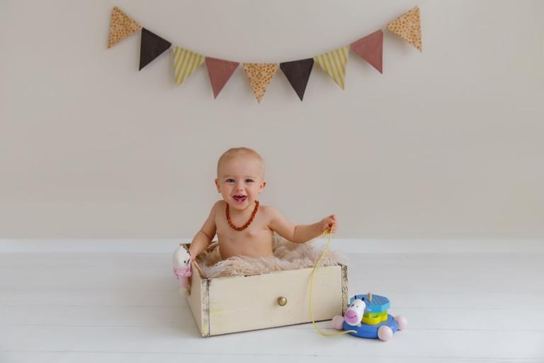 Moderne Babyfotografie in Mnchen  MarieSophie 9 Monate alt  Babyfotograf  Anne Deml