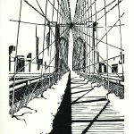 Brooklyn Bridge: Snow Light