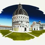 Pisa Towards Evening