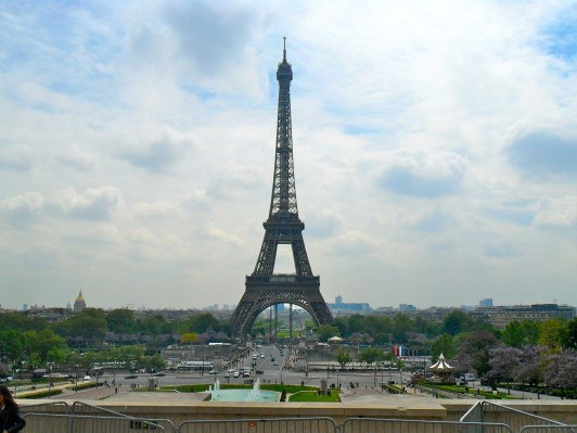 view from Palais de Chaillot