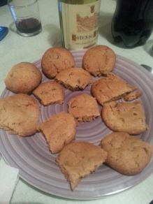 Cookies for dessert!