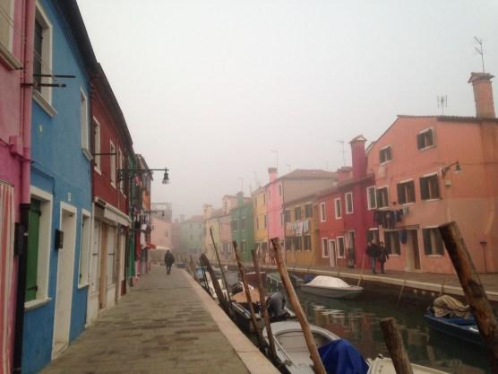 Burano in the fog