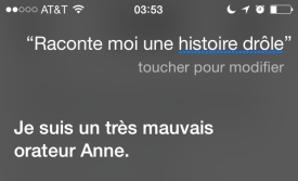 """I'm a very bad orator, Anne."""