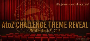 A-Z challenge theme