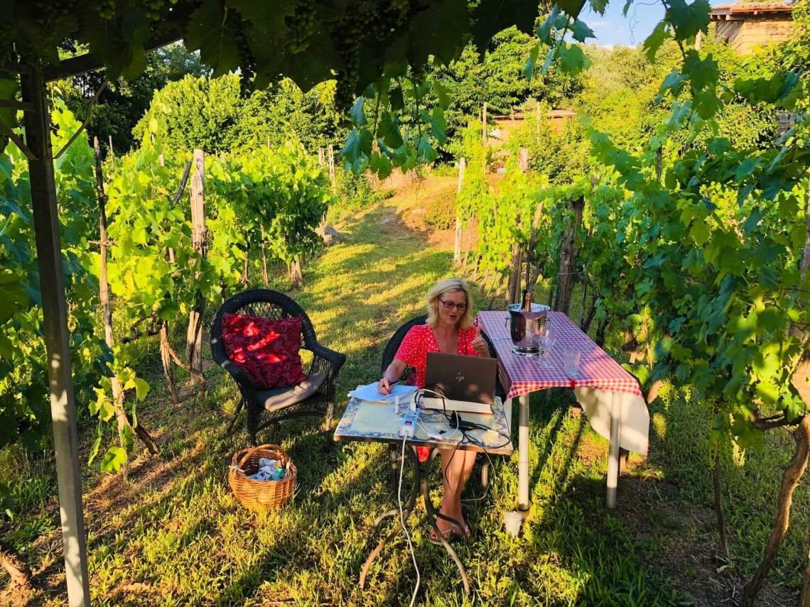 Drømmer du om sommer og vin i Italia? Selv fikk jeg drømmen oppfylt, og jeg er så takknemlig, og deler det gjerne med deg.Derfor har jeg begynt med å holde digitale vinkurs fra Italia.