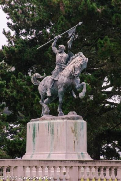 A statue.