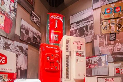 Old soda machines.