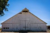 Outside the barn.