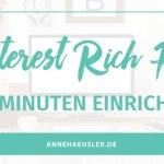 PINTEREST RICH PINS EINRICHTEN: DIE 5 MINUTEN ANLEITUNG
