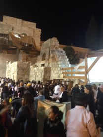 Expanded women's section of the kotel