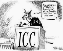 And now the bad news: the anti-Israel ICC; terrorists