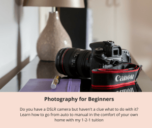 photography tuition beginner