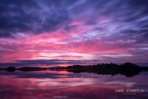 Monikie Country Park sunset