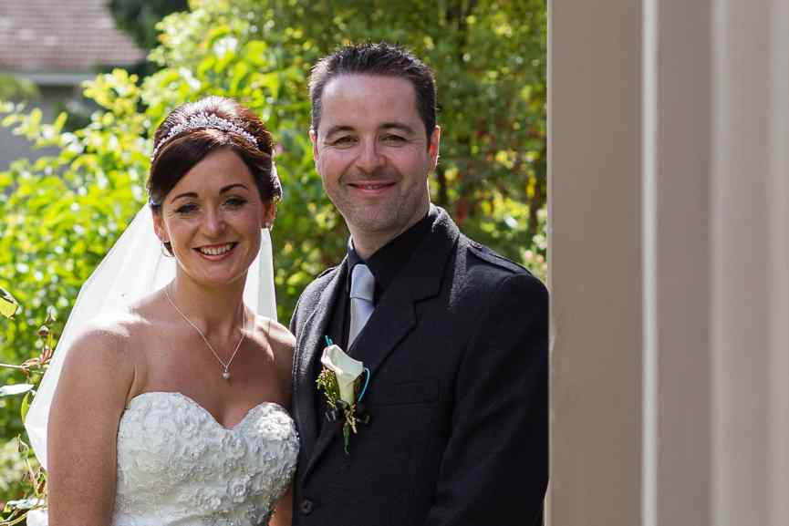 weddings photography bride groom Woodlands Hotel Dundee