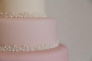 Wedding cake by RM Bakery